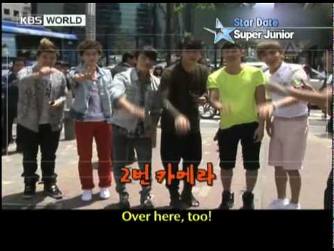 [Star Date] Super Junior (슈퍼주니어) (Eng sub)