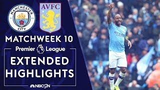 Manchester City v. Aston Villa | PREMIER LEAGUE HIGHLIGHTS | 10/26/19 | NBC Sports