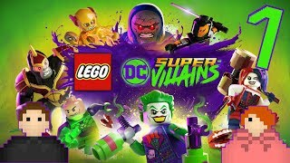 LEGO® DC Super-Villains - First 60 Minutes of Lego DC Super-Villains Gameplay - Ep. 1 - Speletons