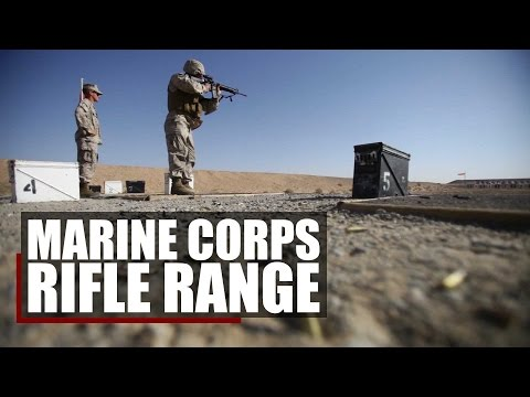 The Marine Corps Rifle Range | Table 1 and Table 2