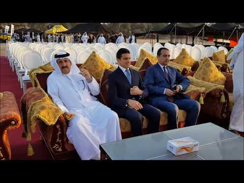 Mohamed Dekkak at the Opening Ceremony of Dubai Travelers Festival