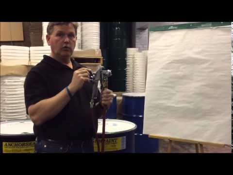 Campbell Hausfeld Sprayer Adjustment Knobs - how to