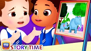 ChuChu and the Painting Competition - ChuChu TV Storytime Good Habits Bedtime Stories for Kids