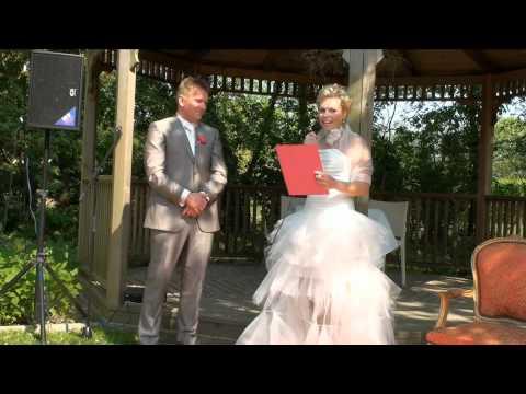 Hoogtepunten bruiloft Robin & Danielle