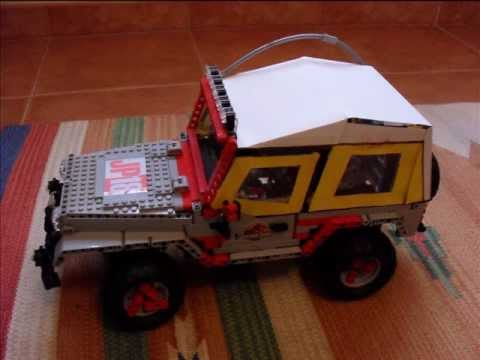 jp lego technic jeep montaggio soft top by jaco4 youtube. Black Bedroom Furniture Sets. Home Design Ideas