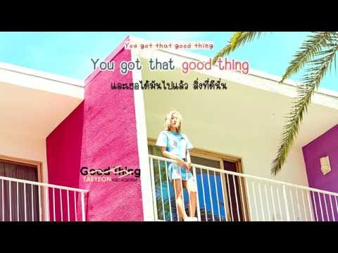 [Karaoke/Thaisub] Taeyeon (태연) - Good Thing