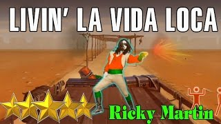 🌟 Ricky Martin - Livin La Vida Loca  [Just Dance 4] 🌟