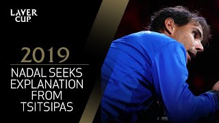 Nadal seeks signal explanation from Tsitsipas | Laver Cup 2019