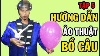 Kỹ thuật đâm bong bóng biến ra chim bồ câu Tập 5 - Thanh Leeto