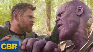 Thanos And Thor Rematch In Marvel's Avengers 4