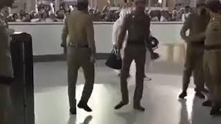 كيف يغادر الشيخ السديس من المسجد الحرام     -