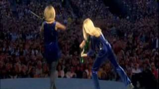 Celtic dueling violins
