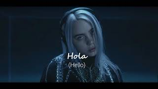 Lovely - Billie Eilish ft. Khalid (Lyrics Español /Inglés)