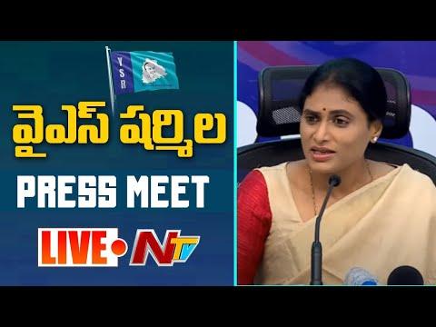 YS Sharmila announces padayatra from October 20 in Telangana