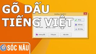 Vietnamese typing on the computer
