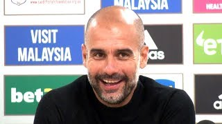 Cardiff 0-5 Manchester City - Pep Guardiola Full Post Match Press Conference - Premier League