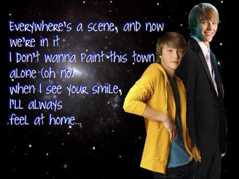 Sterling Knight- Something about the sunshine with lyrics