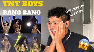 TNT Boys as Jessie J , Ariana Grande, & Nicki Minaj | YFSF 2018 |Bang Bang |MY REACTION