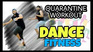 WORKOUT AT HOME // QUARANTINE  TIME WORKOUT // NONSTOP DANCE FITNESS // HIGH ON ZUMBA