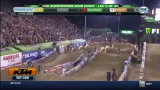[HD] 2014 AMA Supercross round 17  Las vegas 450 Main event