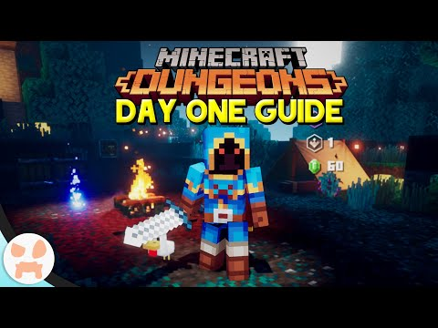 EVERYTHING You Need To Know About Dungeons! | Minecraft Dungeons Day 1 Guide