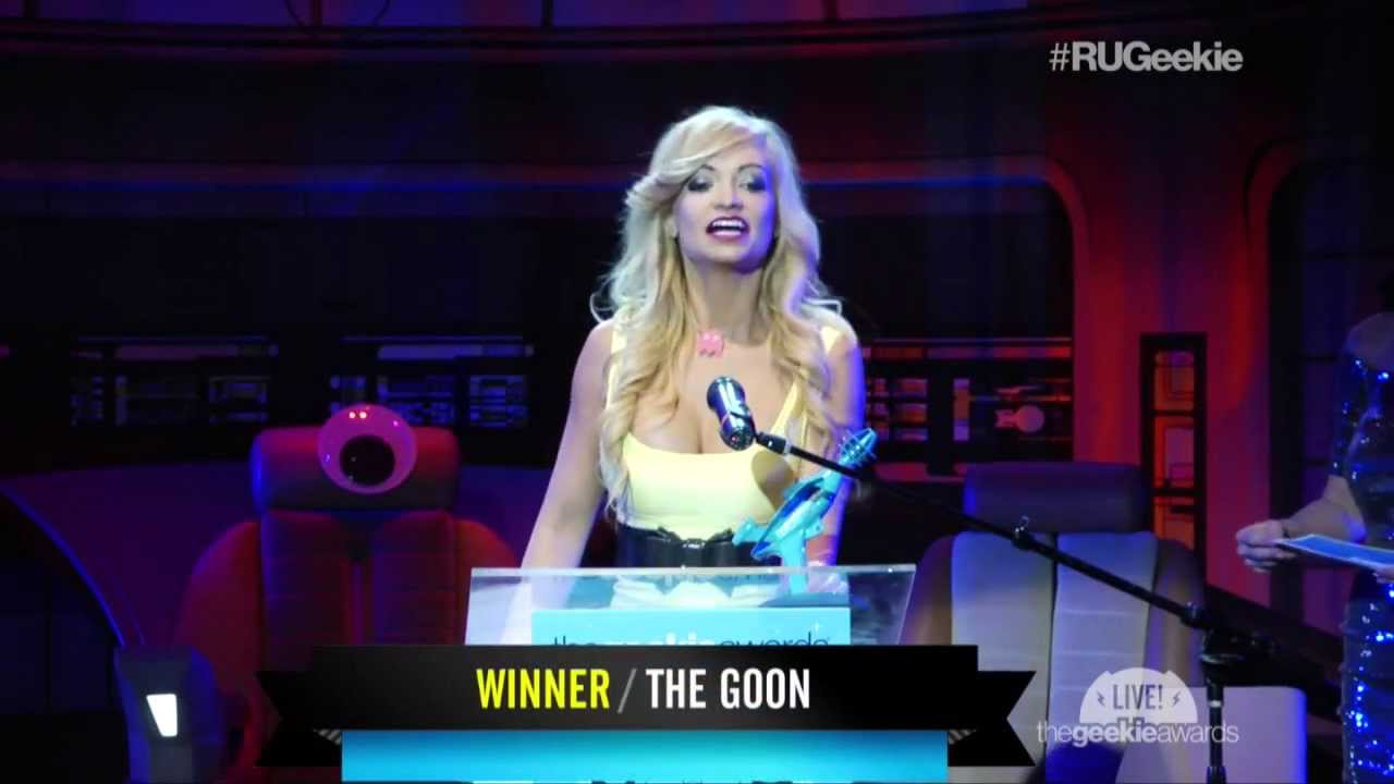 The Geekie Awards 2013: The Goon Wins 'Best Crowdfunding' with Chase Masterson, Kevin Shinick