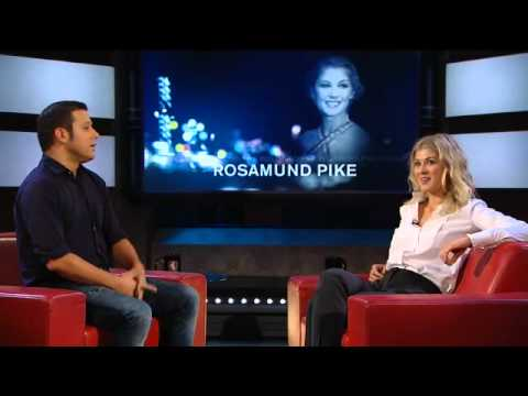 Rosamund Pike on Aging and Miniskirts - YouTube