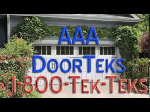 Geneva IL Garage Door Repair 1-800-TEK-TEKS for 24-Hour Emergency Service