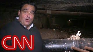 CNN reporter goes inside drug smuggling tunnels