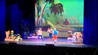 Disney Live! Jake and the Neverland Pirates - Ontario, CA 1-11-14 pt. 1