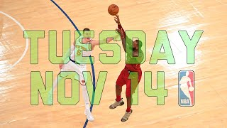 NBA Daily Show: Nov. 14 - The Starters
