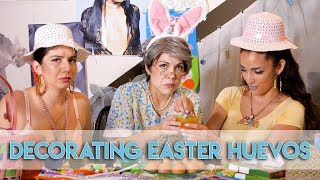 Decorating EASTER EGGS with the Chonga Girls GONE WRONG