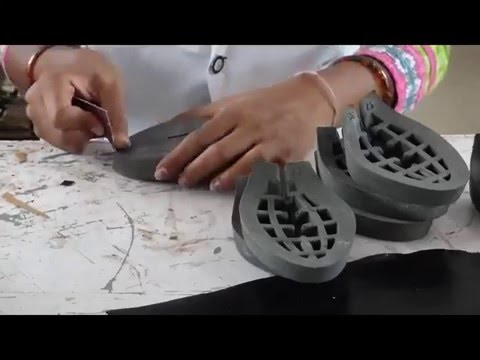Upper Closing Platform Covering - Artisan Handmade Handcrafted Leather Shoe Sandal