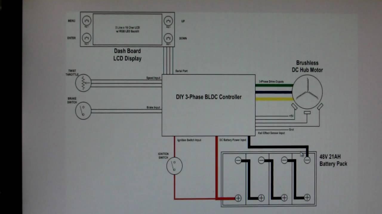 home made bldc hub motor controller project ev wiring. Black Bedroom Furniture Sets. Home Design Ideas