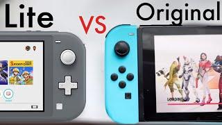 Nintendo Switch Lite Vs Nintendo Switch! (Quick Comparison)