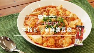 本格ピリ辛麻婆豆腐