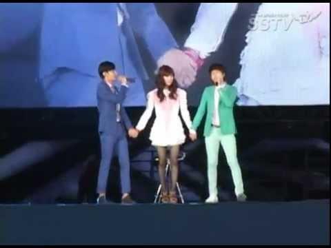 [SSTV]120818 SMTOWN Seoul 2012 - Changmin Kyuhyun KISS GIRL SHINEE TAEMIN