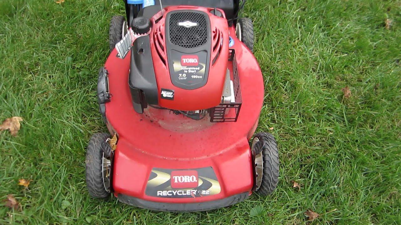 Toro Recycler 7 Hp Lawn Mower Repair A Free Craigslist