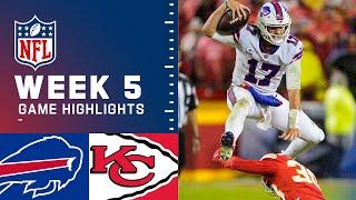 Bills vs. Chiefs Week 5 Highlights | NFL 2021