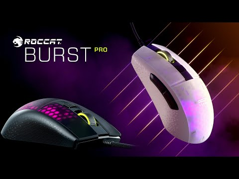 ROCCAT Burst Pro | Extreme Lightweight Optical Pro Gaming Mouse | 4K Trailer