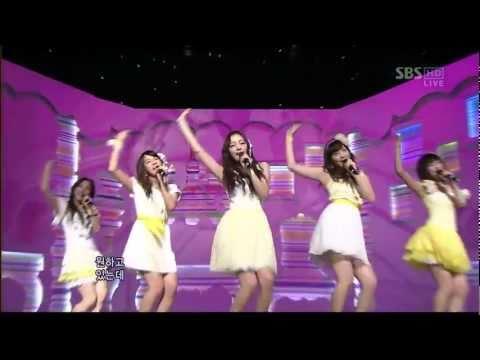 [Live] KARA - Honey (Inkigayo 15.02.2009) HD