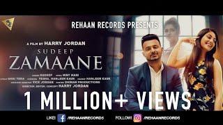 Zamaane – Sudeep Ft Harry Jordan