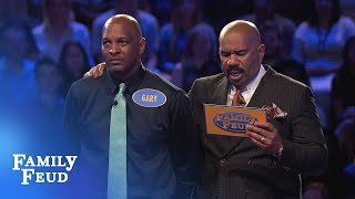 2 Questions left. Gary needs 70 points | Family Feud