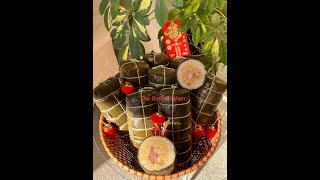 Cách Gói Bánh Tét Truyền Thống - Vietnamese Savory Sticky Rice Cake
