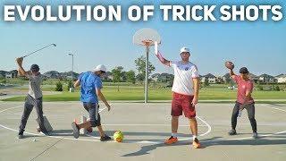 Evolution of Trick Shots   BroFive