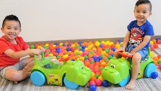 GIANT Hungry Hungry Hippos Ride On Fun With Ckn Toys