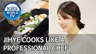 Jihye cooks like a professional chef [Stars' Top Recipe at Fun-Staurant/ENG/2020.07.07]