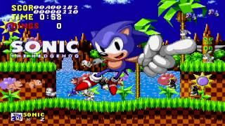 Sonic the Hedgehog [1991] :: Final Boss + Credits :: 1080p HD 60fps