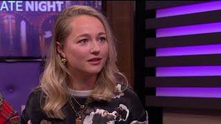 Carolien Karthaus-Spoor was bang voor de ziekte va - RTL LATE NIGHT