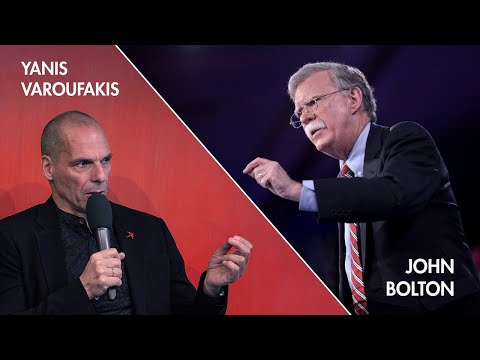 "The 2020 Holberg Debate with John Bolton & Yanis Varoufakis | ""Is Global Stability A Pipe Dream?"""